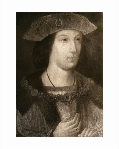 Prince Arthur, Eldest Son of Henry VII by Anonymous