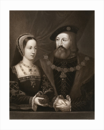 Mary Tudor and Charles Brandon, Duke of Suffolk by Anonymous