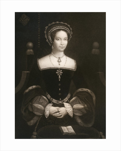 Princess Mary, later Queen Mary I by Anonymous