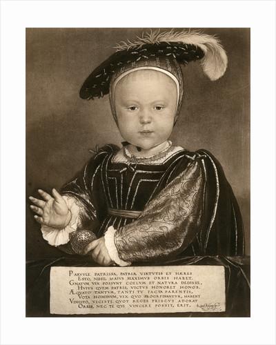 Prince Edward, later King Edward VI by Bruckmann