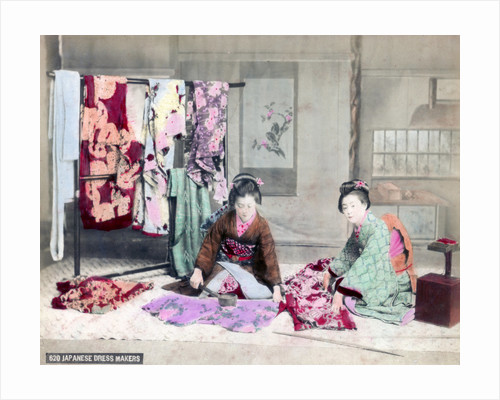 Japanese dressmakers by Anonymous