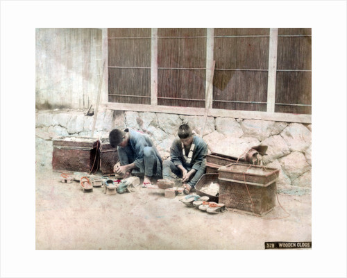 Clog makers, Japan by Anonymous