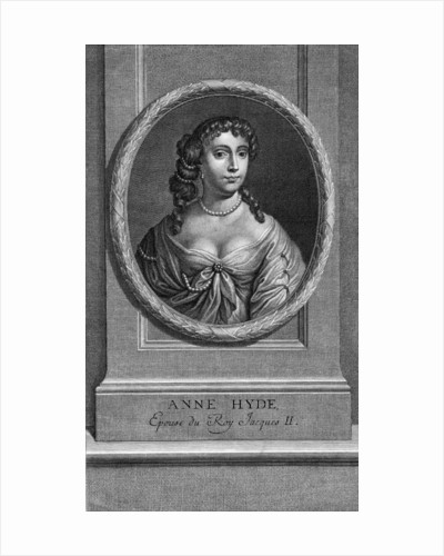 Lady Anne Hyde by Louis Simmoneau