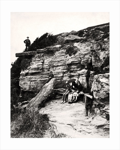 Lovers Seat, Fairlight, Hastings, Sussex by Anonymous