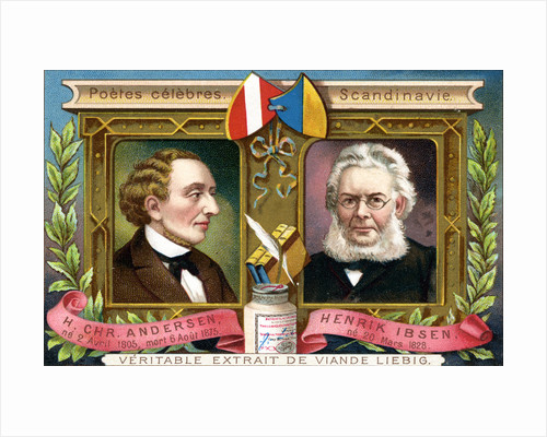 Hans Christian Anderson and Henrik Ibsen by Anonymous