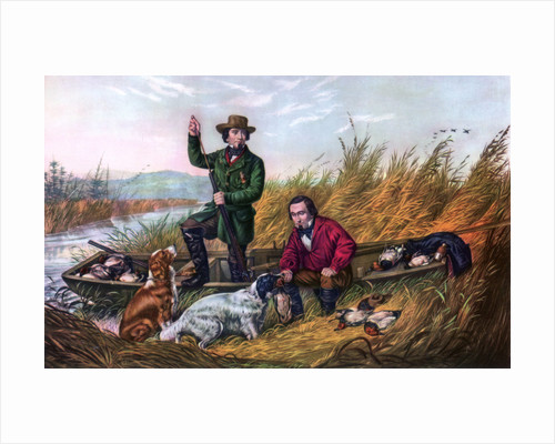Wild Duck Shooting by Currier and Ives