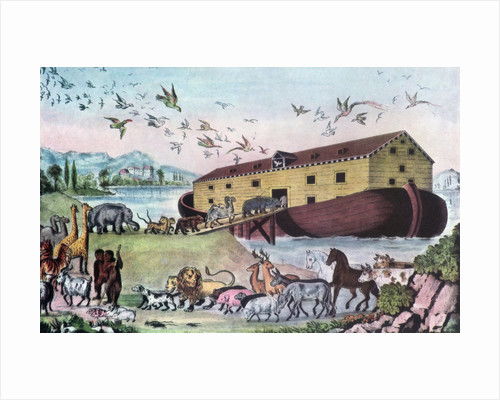 Noah's Ark by Nathaniel Currier