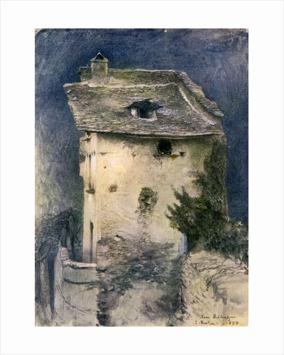 A dilapidated cottage by John Ruskin