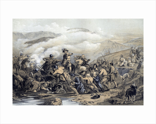 'The Battle of Drumclog', 1679 (19th century) by George Harvey