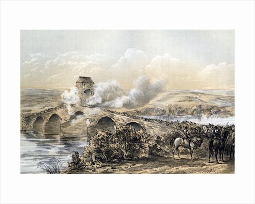 'The Battle of Bothwell Bridge', 1679 (19th century) by Robertson