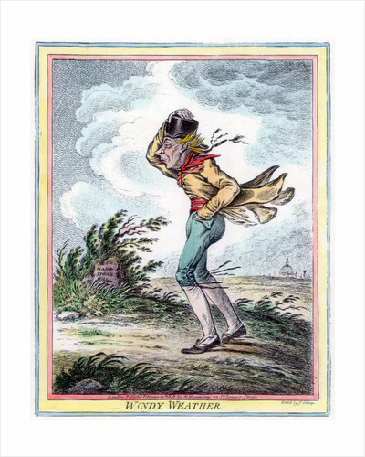 Windy Weather by James Gillray