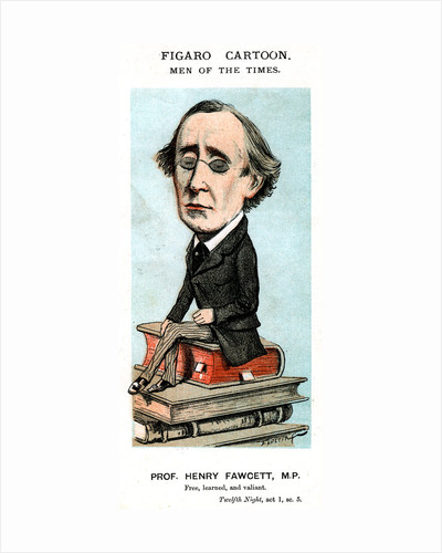 Prof Henry Fawcett, MP by Anonymous
