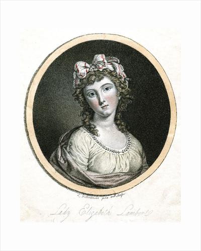 Lady Elizabeth Lambert by Anonymous