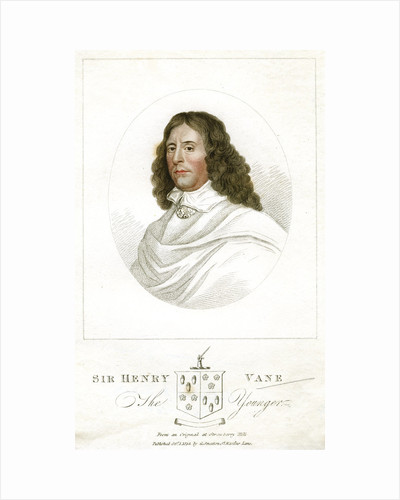 Sir Henry Vane the Younger, English statesman and author by Anonymous