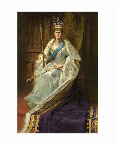 Mary of Teck, Queen Consort of George V of the United Kingdom by George C Wilmshurst