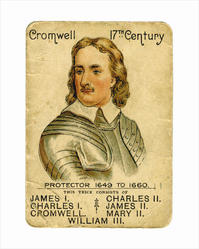 Oliver Cromwell (1599-1658), Lord Protector of England by Anonymous