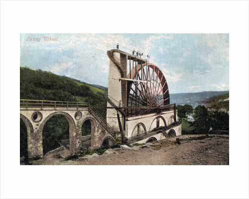 Laxey Wheel, Isle of Man by E Florian