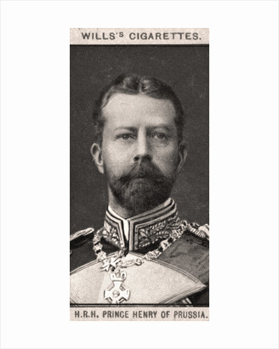 H.R.H Prince Henry of Prussia by WD & HO Wills