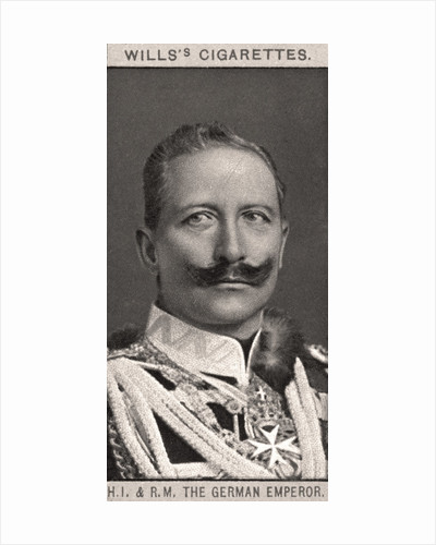H.I & R.M, The German Emperor by WD & HO Wills