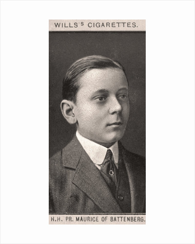 H.H, PR. Maurice of Battenberg by WD & HO Wills