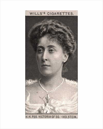 H.H, PSS. Victoria of SG-Holstein by WD & HO Wills