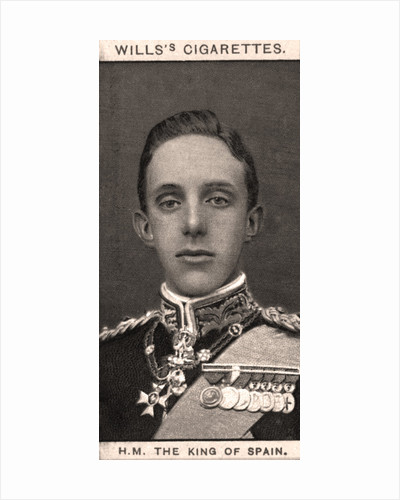 H.M The King of Spain by WD & HO Wills