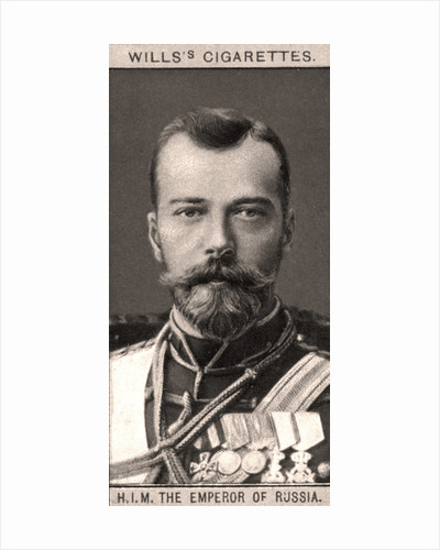 H.I.M The Emperor of Russia by WD & HO Wills