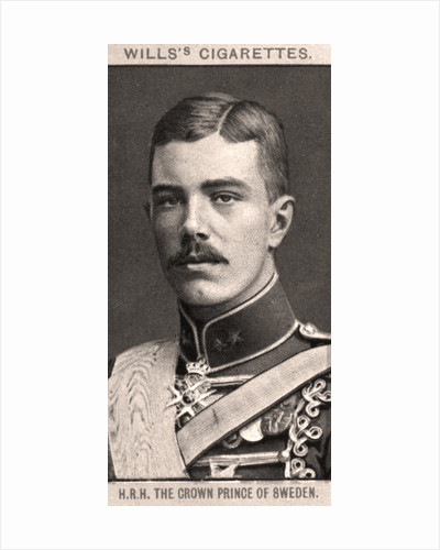 H.R.H The Crown Prince of Sweden by WD & HO Wills