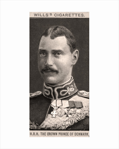 H.R.H. The Crown Prince of Denmark by WD & HO Wills