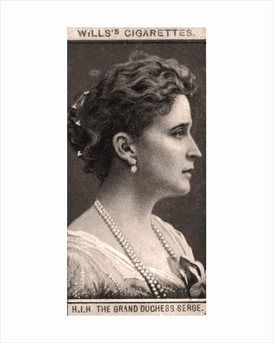 H.I.H The Grand Duchess Serge by WD & HO Wills