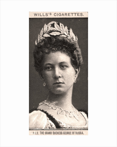 H.I.H The Grand Duchess George of Russia by WD & HO Wills