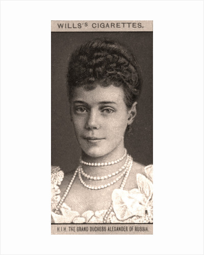 H.I.H The Grand Duchess Alexander of Russia by WD & HO Wills