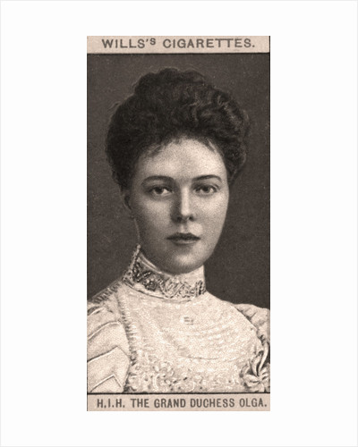 H.I.H The Grand Duchess Olga by WD & HO Wills