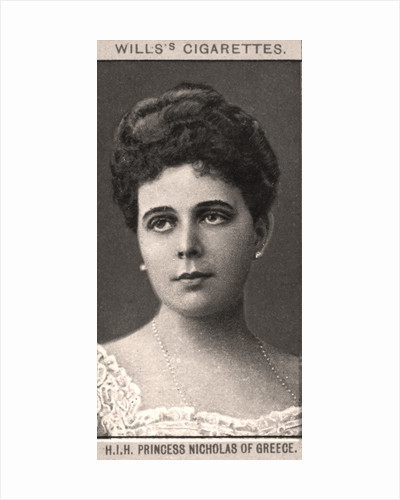 H.I.H Princess Nicholas of Greece by WD & HO Wills
