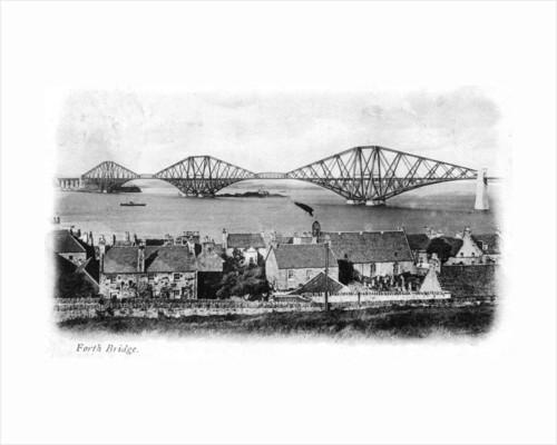 Forth Bridge, Scotland by Anonymous