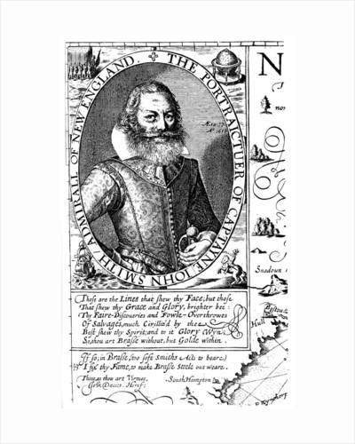 Captain John Smith, Virginia colonist by Anonymous