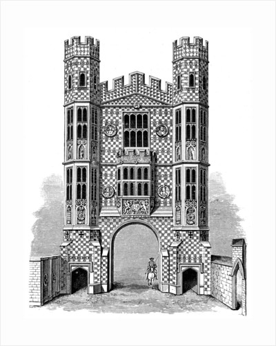 Holbein Gate, Whitehall, London by Anonymous