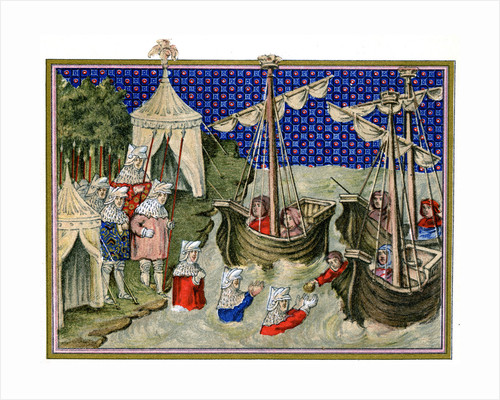 Ships bringing provisions to the English host, Richard II's campaign in Ireland by Anonymous