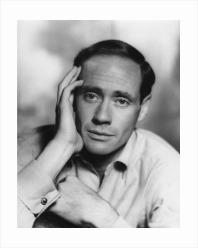 Mel Ferrer (b1917), Cuban-American film actor, producer and director by Vivienne