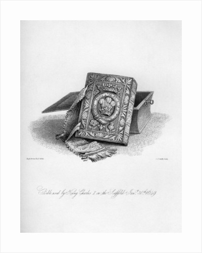 Bible used by King Charles I on the scaffold by C J Smith