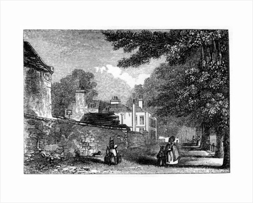 Upper Flask Tavern, Hampstead Heath, residence of George Steevens by Anonymous