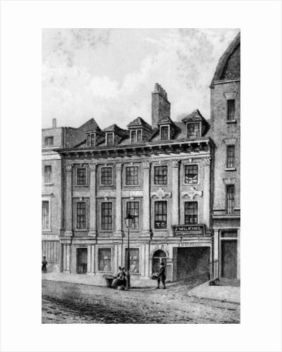 Residence of John Hoole, Great Queen Street, Lincoln's Inn Fields, London by C J Smith