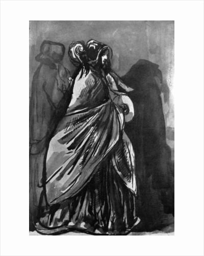 La Dame Au Chale by Constantin Guys