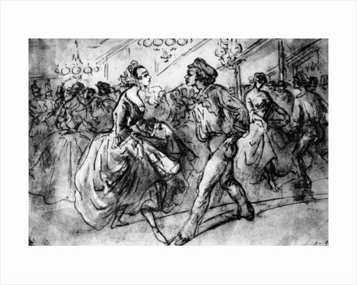 At the Dance by Constantin Guys