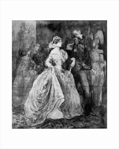 A Reception at Court by Constantin Guys