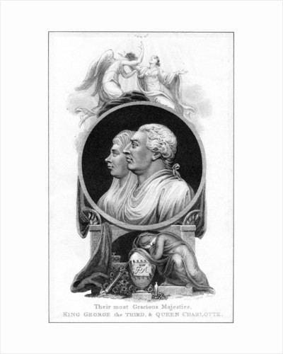 King George III and Queen Charlotte by Cooper