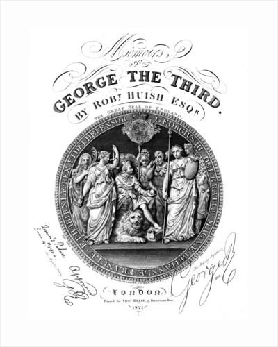 Memoirs of George III, by Robert Huish by Eldridge