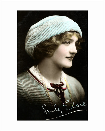 Lily Elsie (1886-1962), English actress by Rotary Photo