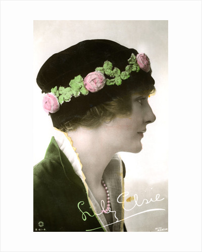 Lily Elsie (1886-1962), English actress by Rita Martin