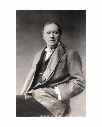 Herbert Beerbohm Tree (1852-1917), English actor by Langfier Photo